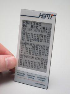 HEMI ePaper Kalender